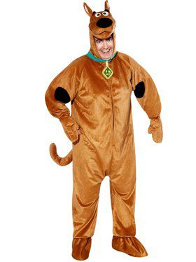 Scooby Doo Mens Plus Costume