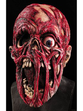 Screaming Dead Corpse Latex Mask