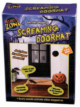 Screaming Door Mat Decoration