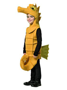Seahorse Costume for Kids
