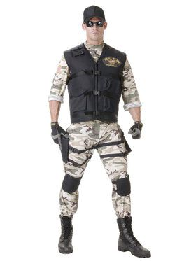 SEAL Team Standard Adult Costume