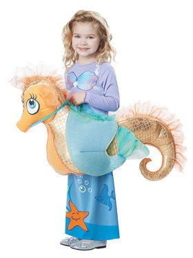 Seaquestrian Mermaid Costume Toddler
