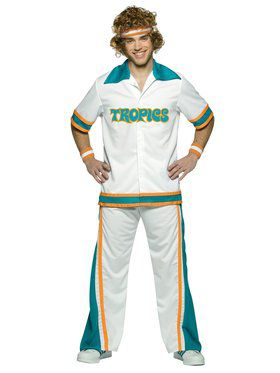 Semi-pro Warm Up Suit Adult Costume