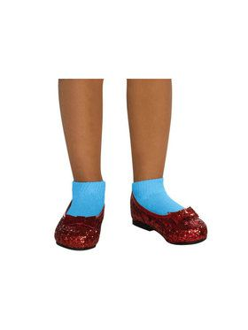 Red Sequin Deluxe Dorothy Shoes for Kids