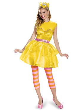 Sesame Street Big Bird Sweetheart Dress For Women