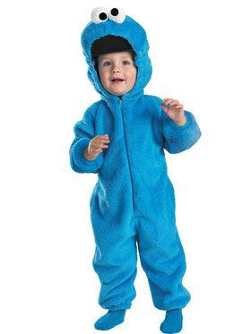 Sesame Street - Cookie Monster Costume For Toddlers