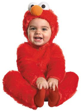 Sesame Street Elmo Comfy Fur Costume Toddler