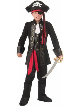 Seven Seas Pirate Boys Costume