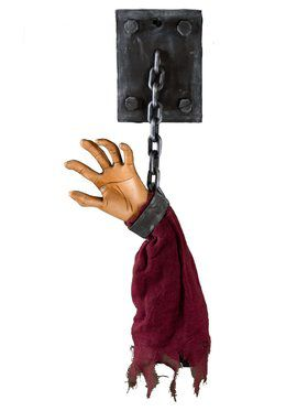 Severed Arm on the Wall Prop