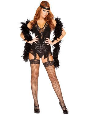 Sexy 1920's Party Flapper Women's Costume