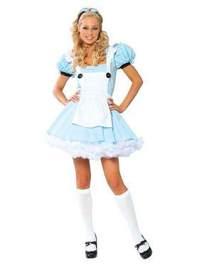 Sexy Alice In Wonderland Adult Costume