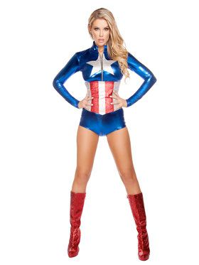 Sexy All American Temptress Costume