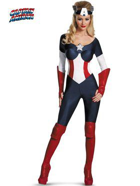 Sexy American Dream Bustier Women's Costume