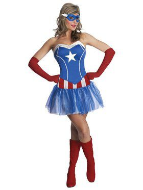 Sexy American Lady Women's Costume