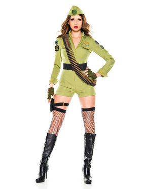 Adult Sexy Army Sergeant Costume