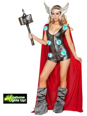 Sexy Asgardian Queen Women's Costume