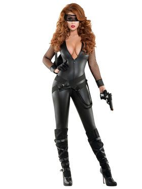 Sexy Bank robber Babe Women's Costume