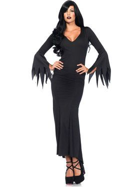 Sexy Black Gothic Dress Women's Costume