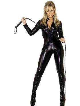 Sexy Black Miss Whiplash Adult Costume
