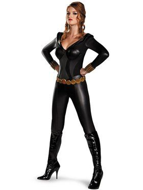 Sexy Black Widow Bustier Costume Women's Costume