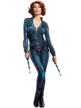 Sexy Black Widow Women's Costume
