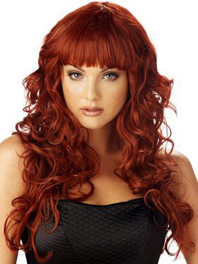 Sexy Burgundy Impulse Womens Wig
