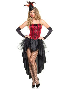 Sexy Burlesque Beauty Women's Costume