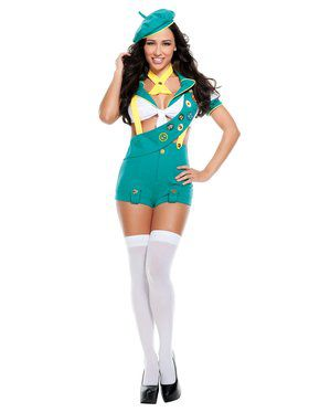 Sexy Camp Fire Cutie Scout Adult Costume