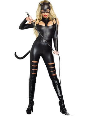Sexy Cat Fight Women's Costume