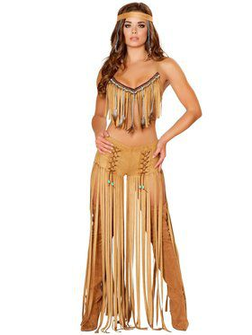 Sexy Cherokee Hottie Womens Costume