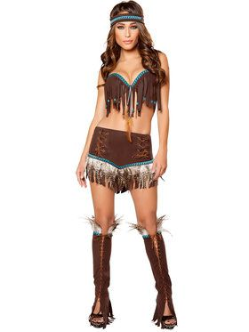 Sexy Cherokee Sweetheart Women's Costume