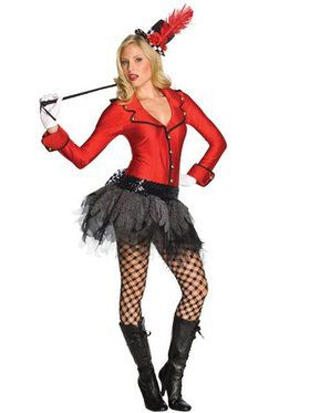 Sexy Circus Ring Master Costume Adult