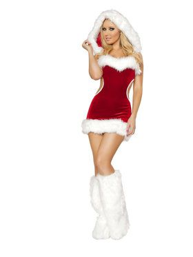 Sexy Claus Costume for Adults