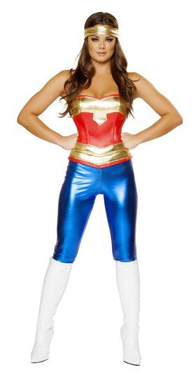 Sexy Comic Cutie Women's Costume