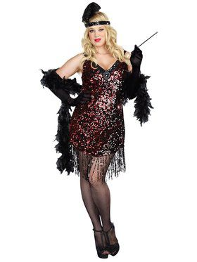 Sexy Dames Like Us Women's Plus Size Costume