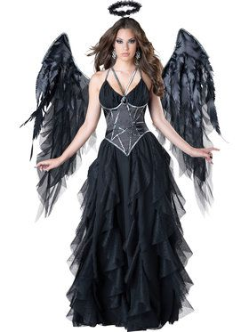 Sexy Dark Angel Womens Costume