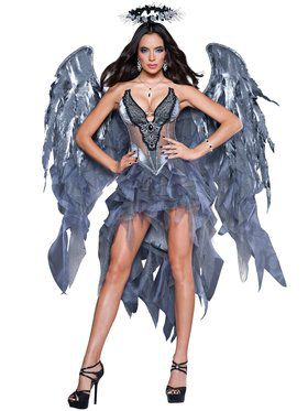 Sexy Dark Angel's Desire Womens Costume