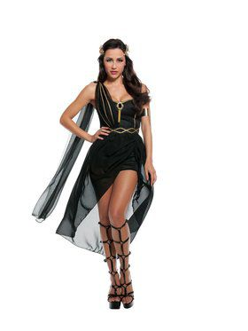 Sexy Dark Roman Goddess Adult Costume