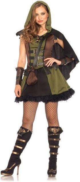 Sexy Darling Robin Hood Women's Costume