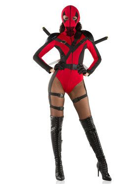 Sexy Dead Assassin Women's Costume