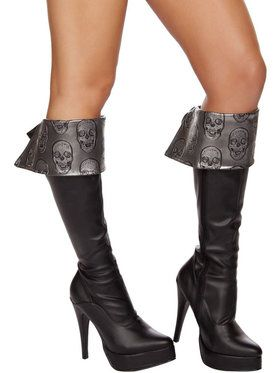 Sexy Deadly Pirate Boot Cuffs