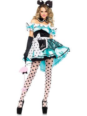 Sexy Delightful Alice Women's Costume