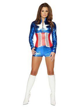 Sexy Deluxe All American Adult Costume