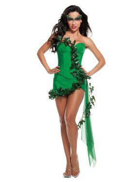 Sexy Deluxe Green Ivy Girl Adult Costume