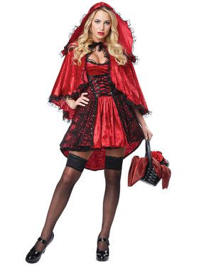 Sexy Deluxe Red Riding Hood Women's Costume