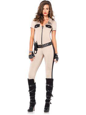 Sexy Deputy Patdown Women's Costume