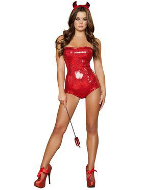 Sexy Devilish Delight Women's Costume
