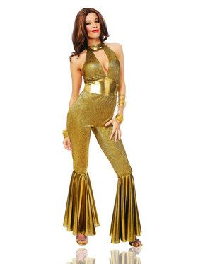 Sexy Disco Diva Womens Costume