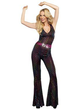 Sexy Disco Doll Women's Costume