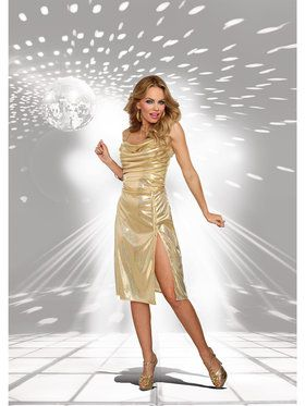 Sexy Disco Inferno Women's Costume
